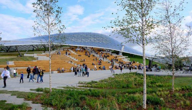 Когда в Москве откроется парк «Зарядье» для посещений после карантина