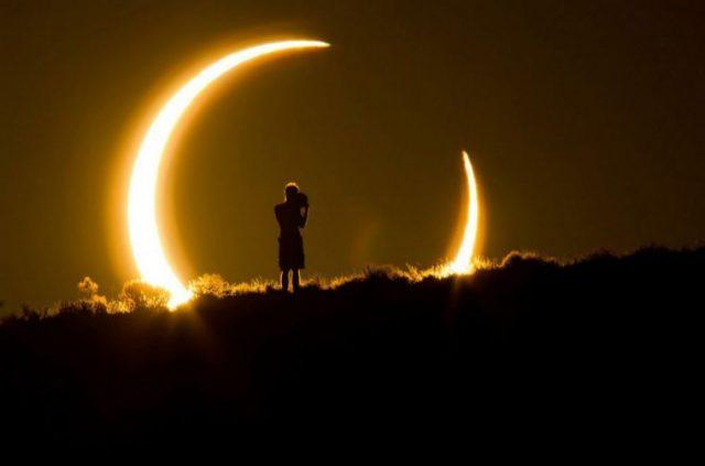 Солнечное затмение в 2020 году произойдет дважды