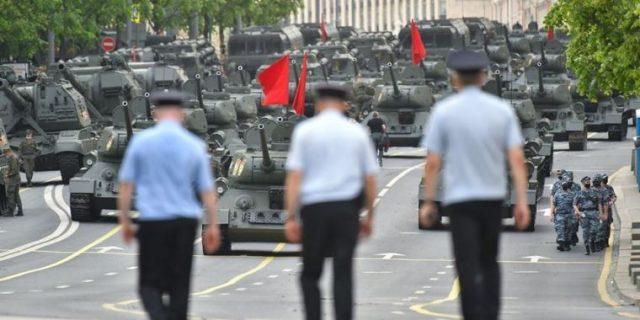 Маршрут движения военной техники на параде в Москве 24 июня 2020 года