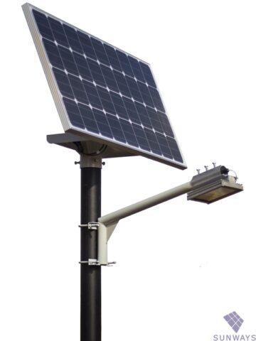Какие элементы входят в состав автономной системы освещения на солнечных батареях