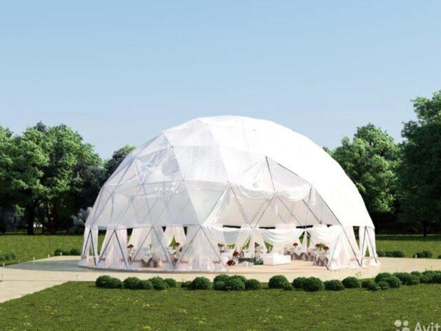 Где и как арендовать купольный шатер
